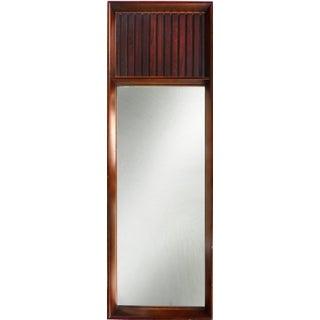 Lane Mid-Century Modern Rosewood Mirror