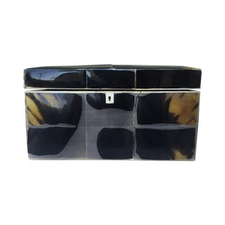 Horn Lacquered Box
