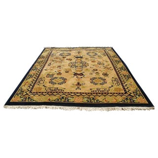 """Handmade Kandahar Wool Carpet - 9' X 12'5"""""""