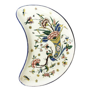 Vintage Gien French Country Ceramic Catchall Dish