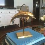 Image of Palm Beach Regency Brass Dolphin Fish Figurine