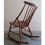 Image of Danish Modern Rocking Chair by Illum Wikkeslo
