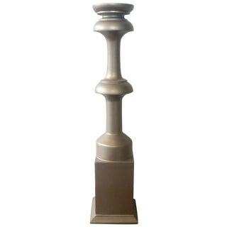 Sandy Gold Candleholder