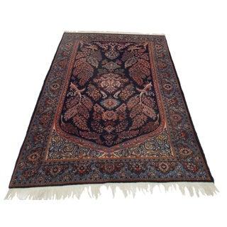 "Persian Sarouk Wool Rug - 3'3"" x 6'9"""