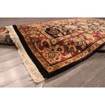 """Image of Hand-Knotted Kashan Wool Rug - 5'1"""" X 7'10"""""""