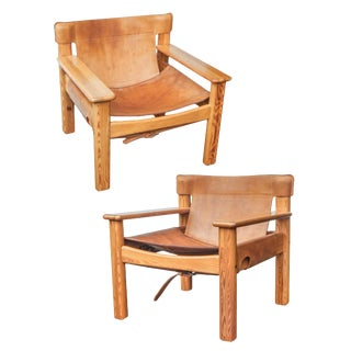 Pair of Saddle Natura Chairs