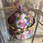 Image of Cloisonné Floral Box