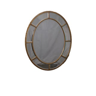 Friedman Brothers Vintage Oval Gilt Mirror