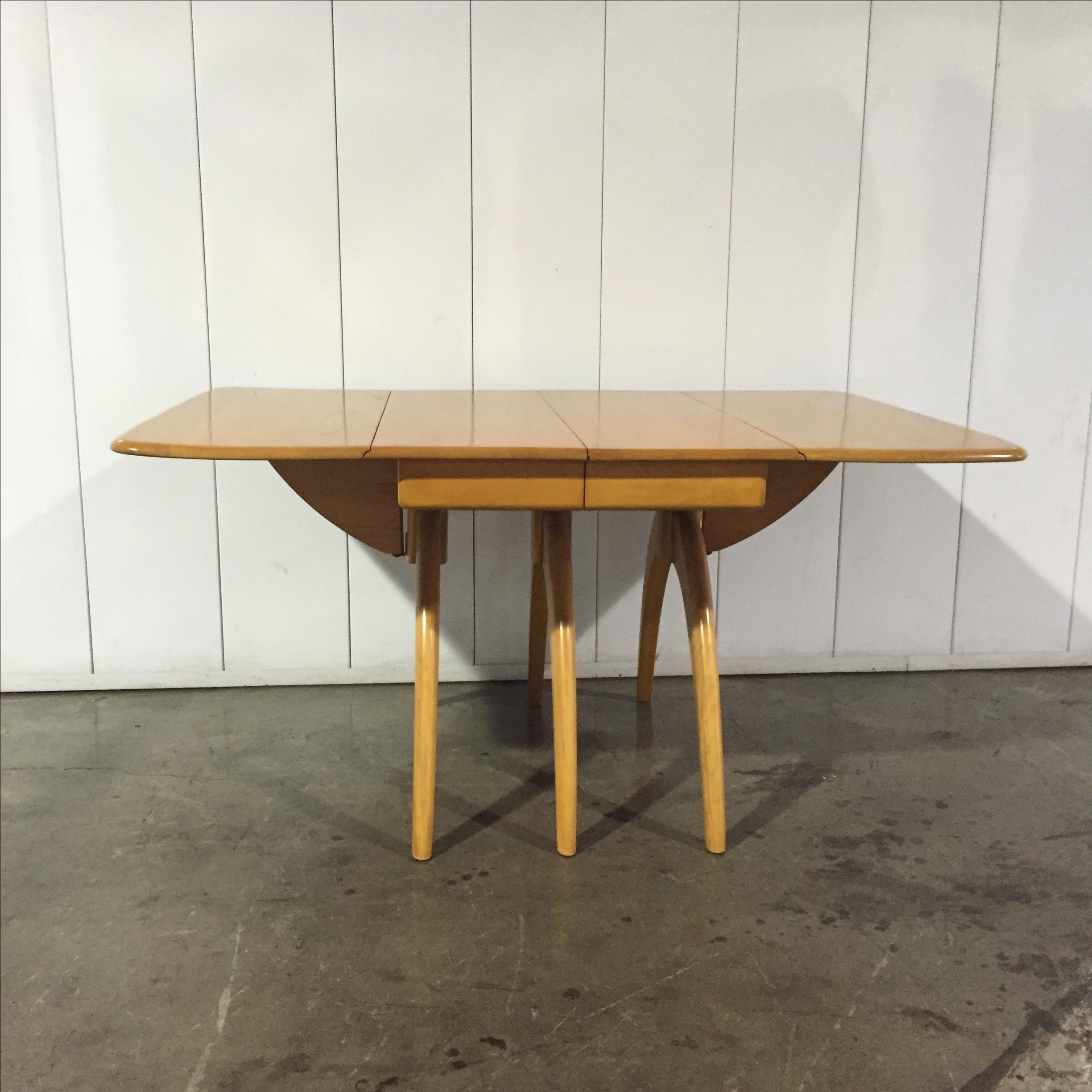 Heywood Wakefield Vintage Wishbone Dining Table Chairish : 1f5852f7 943f 4aab 8fc3 8be64f2d68c9aspectfitampwidth640ampheight640 from www.chairish.com size 640 x 640 jpeg 39kB