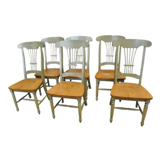 Sage Green Sheaf Dining Chairs - Set of 8