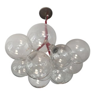 Modern Large Bubble Chandelier