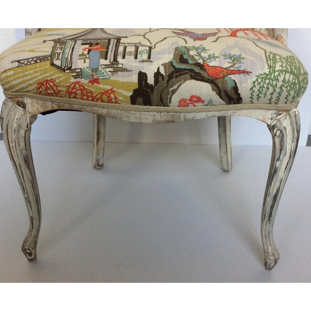 Antique Upholstered Chair - Image 3 of 8