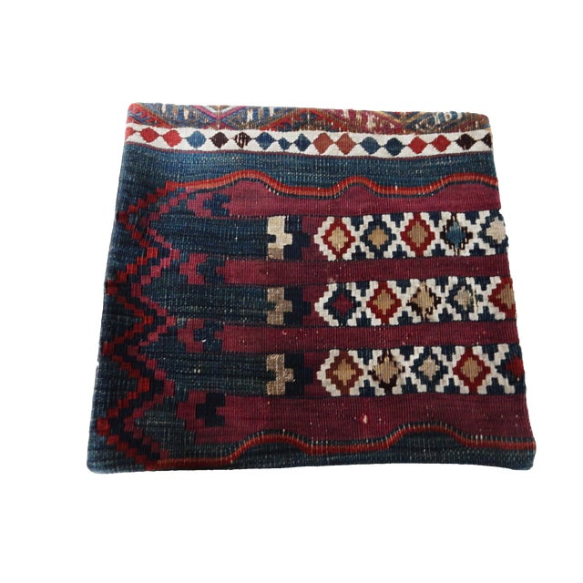 Antique Tribal Kilim Pillow Cover - Image 1 of 6