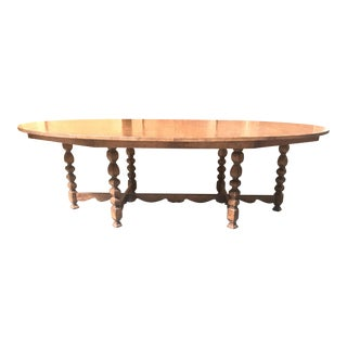 Spanish Wood Dining Table