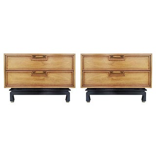 Mid-Century Nightstands - A Pair