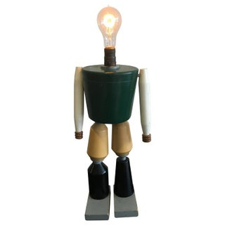 Vintage Articulated Robot Table Lamp