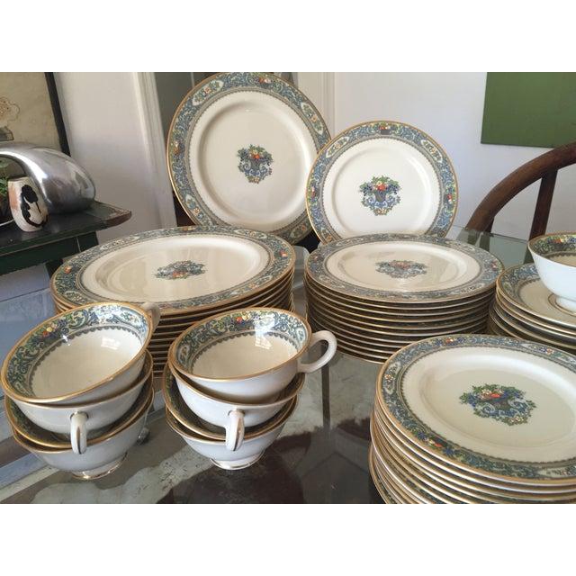 5-Piece Lenox Autumn China Setting- Set of 12 - Image 5 of 11