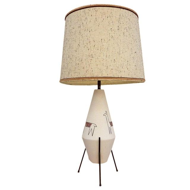 California Modernist Llama Lamp - Image 1 of 6