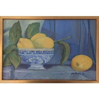 Lemon Verbena Original Oil Painting