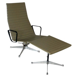 Aluminum Group Lounge Chair & Ottoman