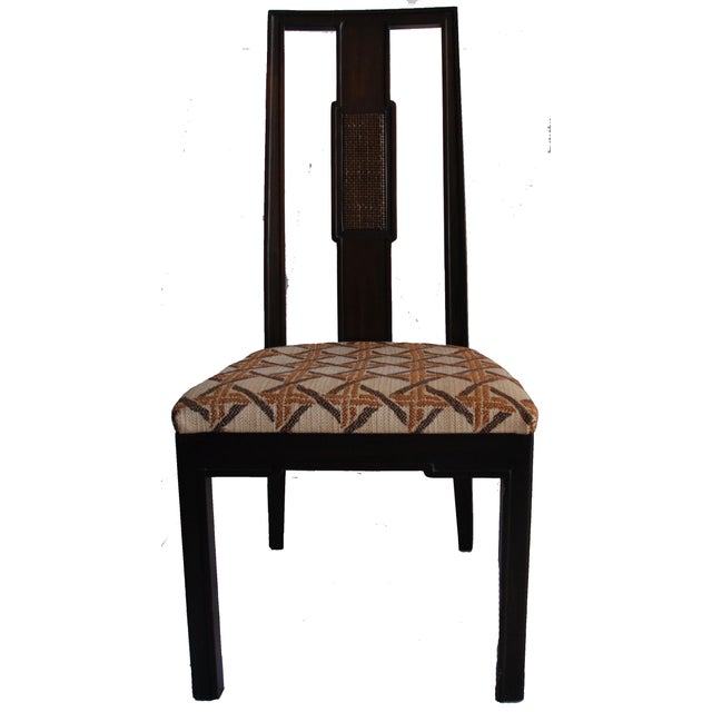 John Widdicomb Burl Walnut Dining Chairs - S/6 - Image 10 of 10