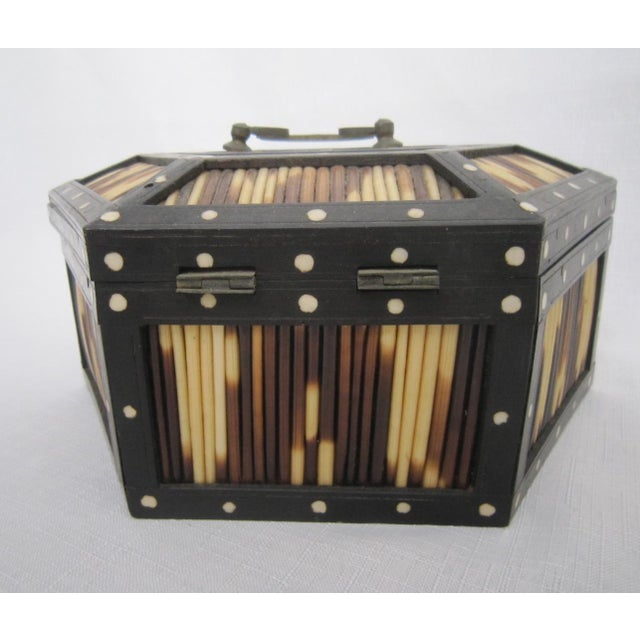 Anglo Indian Quill Gaming Box - Image 6 of 6