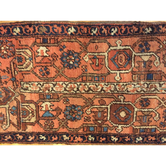 Vintage Hand Woven Persian Runner - 2′6″ × 8′ - Image 4 of 10