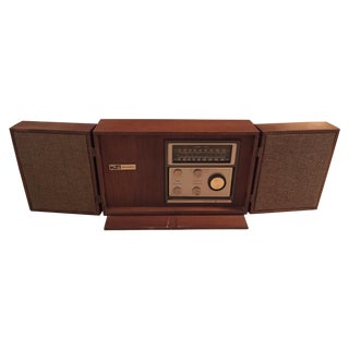 Mid-Century General Electric Folding Speaker Radio