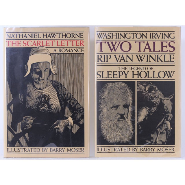 Hawthorne and Irving, 2 Moser Illustrated Volumes - Image 2 of 8