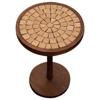 Martz for Marshall Studios Ceramic Mosaic and Walnut Table