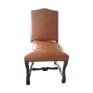 Leather Barcelona Side Chairs - Set of 4