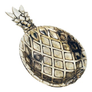 Vintage Silver Pineapple Tray