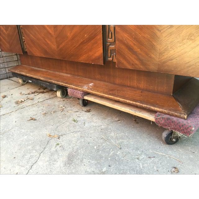 United Furniture Vintage 1970s Brutalist Dresser - Image 5 of 5