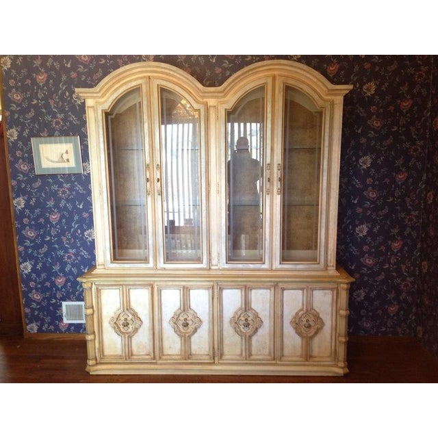 Vintage stanley furniture french rococo style armoire for Rococo style furniture