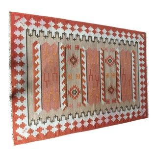 Vintage Turkish Rug - 4′8″ × 6′8″