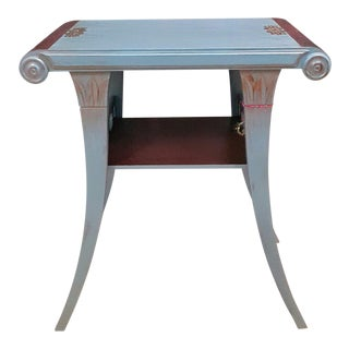 Antique Two Tone Accent Table