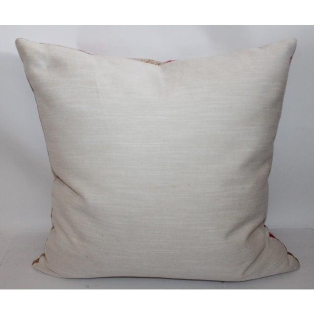 Vintage Floral Patterned Pillow - Image 5 of 6