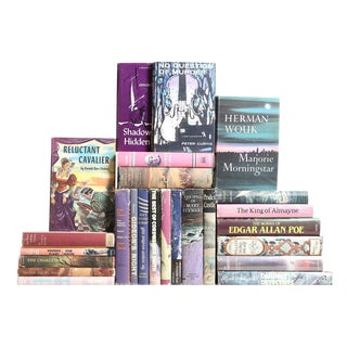 Midcentury Novels In Berry, S/25