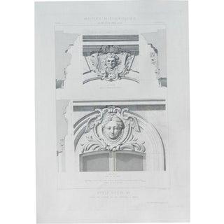 Antique 1869 Print, Architecture 9