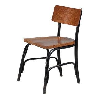 Fritz Schlegel Oak and Beech 'Husum' Chair, Denmark, circa 1930