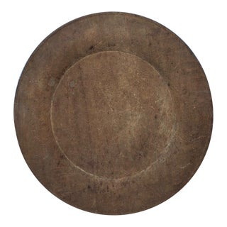 18th Century Treen Plate