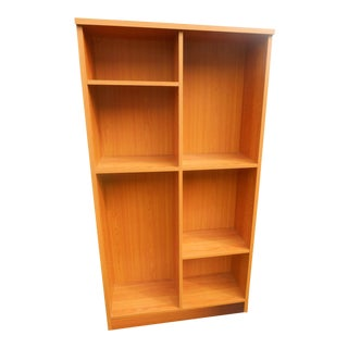 Mid-Century Danish Modern Adjustable Bookcase