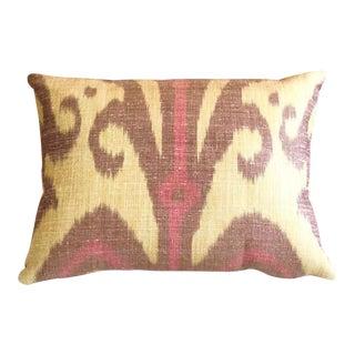 Silk Carleton V Ikat Pillow