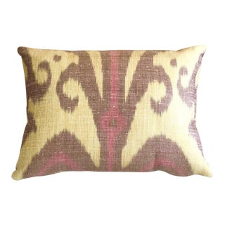 Silk Carleton V Ikat Pillow
