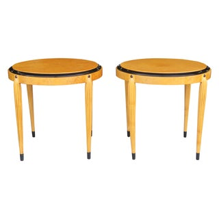 Ruhlmann Art Deco Side Tables - A Pair