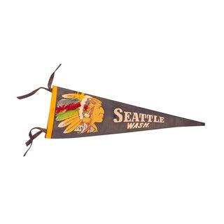 Seattle Washington Felt Flag