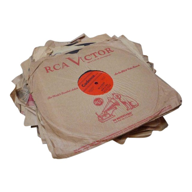Antique Records in Paper Sleeves - Set of 9 - Image 1 of 5