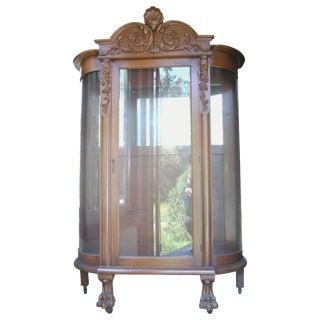19th-C. Heirloom Display Cabinet