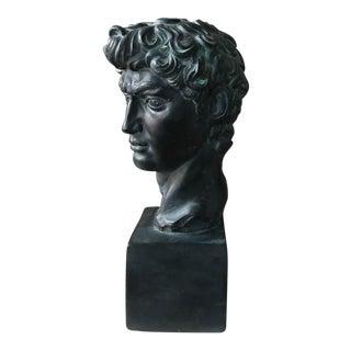 Vintage Bust of David, Signed