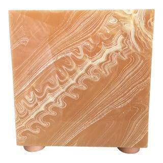 Faux Marble Paper Basket
